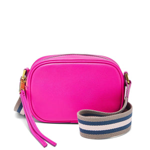 Fossil Maisie Small Camera Bag In Fucshia