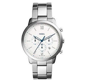 Fossil Analog White Dial Men's Watch (FS5433)