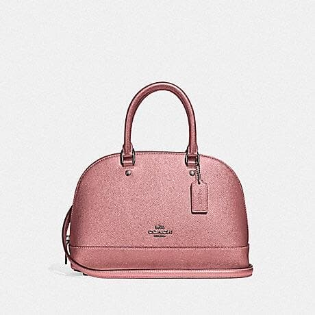 Coach Mini Sierra Satchel F29170 (Qb/Metallic Dark Blush)