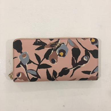 Kate Spade Large Continental Wallet Cameron Paper Rose (pink Multi)