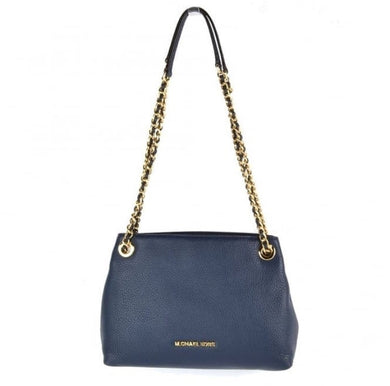 Michael Kors Jet Set Medium Chain Messenger (Navy)
