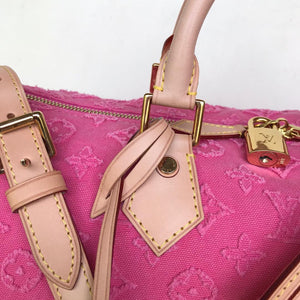 Preloved Louis Vuitton Limited Edition Pink Stones Speedy 35B