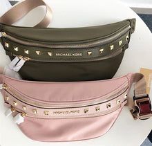 Load image into Gallery viewer, MICHAEL KORS KENLEY MEDIUM WAIST PACK (BLOSSOM/PINK)