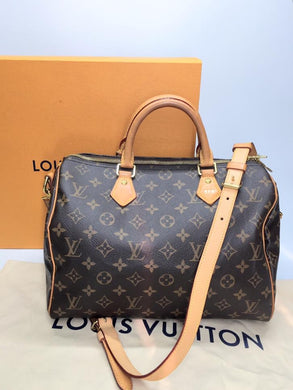 Preloved Louis Vuitton Mono Speedy 30B