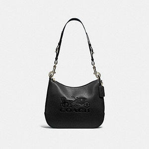 Coach Jes Hobo F72702 In Black Leather