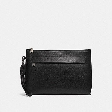 COACH CARRYALL POUCH F28614 (BLACK)