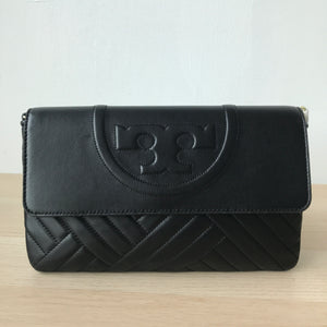 Tory Burch Alexa Clutch Black