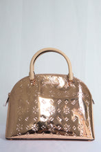 Load image into Gallery viewer, MICHAEL KORS EMMY LARGE DOME SATCHEL 35H9RY3S3Z (ROSE GOLD)