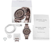 Load image into Gallery viewer, Michael Kors Rose Gold Steel Women's Watch MKT5030