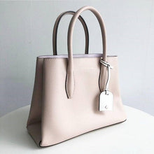 Load image into Gallery viewer, KATE SPADE EVA SMALL SATCHEL (WARMBEIGE/BLUSH)