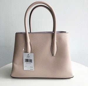 KATE SPADE EVA SMALL SATCHEL (WARMBEIGE/BLUSH)