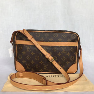 PRELOVED Louis Vuitton Mono Trocadero 30 Shoulder Bag