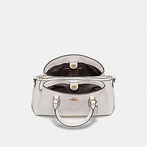 Coach Handbag Mini Sage Carryall F28977 (Silver/Black)
