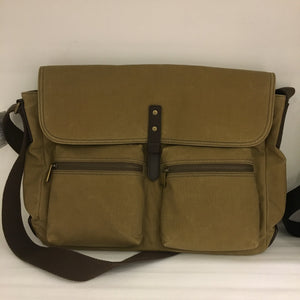 FOSSIL MEN CROSSBODY BUCKNER MESSENGER (BROWN)