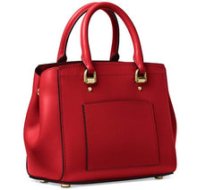 Load image into Gallery viewer, Michael Kors Benning Medium Messenger Bright Leather Bag (Red)