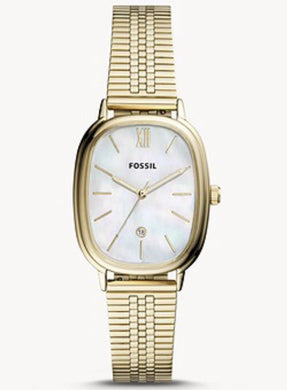 Fossil Lyla Three-Hand Date BQ3610 Gold-Tone Stainless Steel Watch