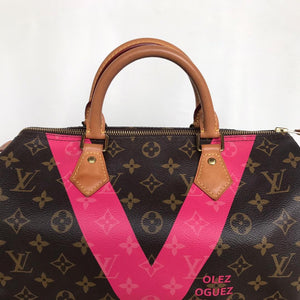 Louis Vuitton Limited Edition V Grenade Speedy 30