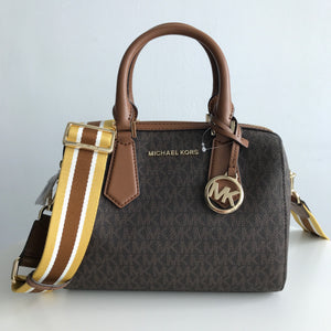 MICHAEL KORS HAYES SMALL DUFFLE (brown/luggage)