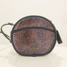 Load image into Gallery viewer, Coach Glitter Canteen Crossbody F48731 (Nickel Black/Rainbow Multi)