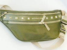 Load image into Gallery viewer, MICHAEL KORS KENLEY MEDIUM WAIST PACK (GREEN/DUFFLE)