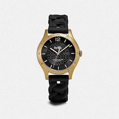 COACH MADDY WATCH, 34MM W1631 (BLACK)