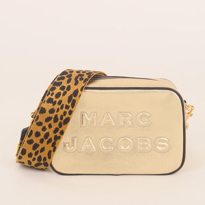 Marc Jacobs The Flash M0015755716 Crossbody Bag In Gold Shine