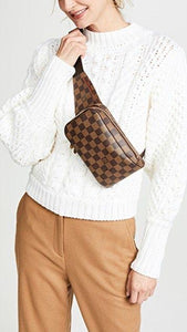 Preloved Louis Vuitton Damier Ebene Geronimos Waist/Crossbody Bag