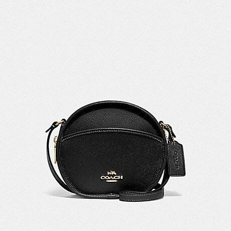 Coach Canteen Crossbody F75516 (Black/Imitation Gold)