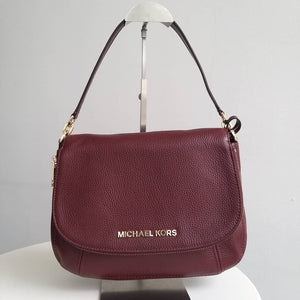 Michael Kors Medium Bedford Convertible Flap Shoulder Bag (Merlot)