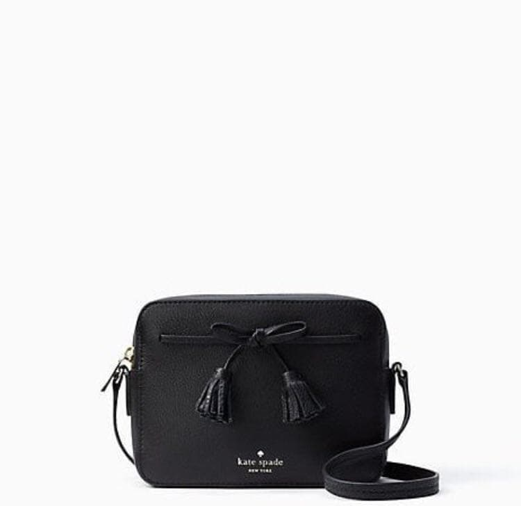 Kate Spade Hayes Camera Bag WKRU5722 (Black/Warm)