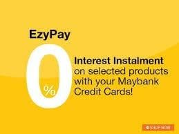 Admin Fee Maybank Installment RM30