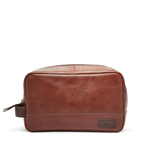 FOSSIL EVAN TRAVEL KIT (BROWN)