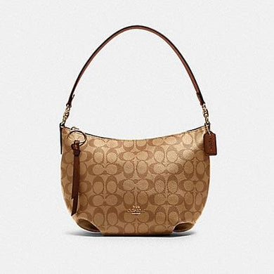 Coach Small Skylar 90738 Hobo Shoulder Bag In Khaki Saddle