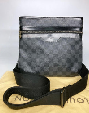 Preloved Louis Vuitton Damier Graphite Thomas Messenger Bag