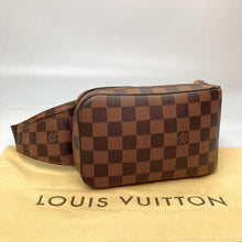 Load image into Gallery viewer, Preloved Louis Vuitton Damier Ebene Geronimos Waist/Crossbody Bag