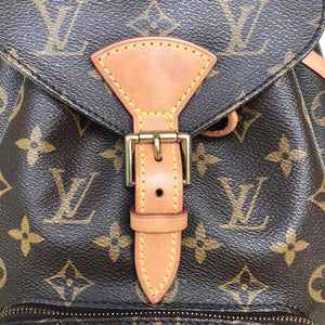 Preloved Louis Vuitton Monogram Montsouris MM Backpack