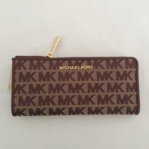 Michael Kors Jet Set Travel Large Three Quarter Zip (Oxblood)