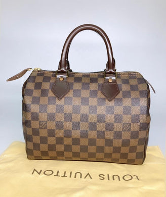 Preloved Louis Vuitton Damier Ebene Speedy 25