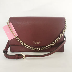 Kate Spade Cameron Convertible Crossbody WKRU5843 (Cherrywood)