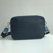 Load image into Gallery viewer, Michael Kors Fulton Sport 35F9GF0C3B Large EW Crossbody Bag (Dark Chambray Multi)