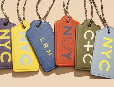 Coach Tag Monogramming Service