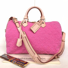 Load image into Gallery viewer, Preloved Louis Vuitton Limited Edition Pink Stones Speedy 35B