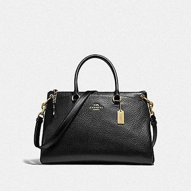 Coach Mia F78750 Satchel Bag In Black