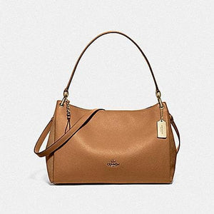 Coach Mia Shoulder Bag F77999 (Light Saddle/Gold)