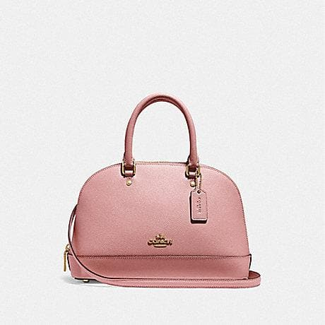 Coach Mini Sierra Satchel F27591 (Imitation Gold/Pink Petal)