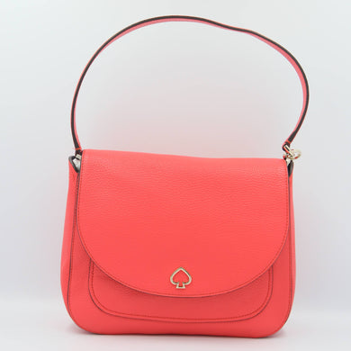 Kate Spade Medium Kailee WKRU6487 Flap Shoulder Bag In Stoplight