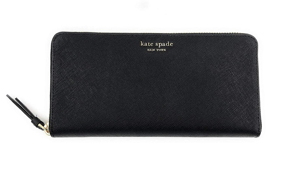 kate spade Cameron Large Continental Wallet (black)