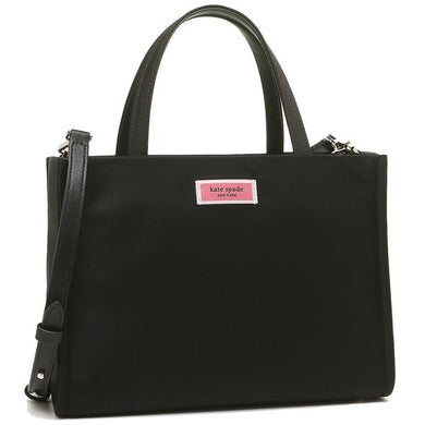 Kate Spade Sam Nylon Medium Satchel PXRUA174 In Black