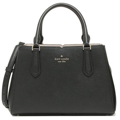 Kate Spade Tippy Small Triple Compartment Satchel WKRU6706 In Black
