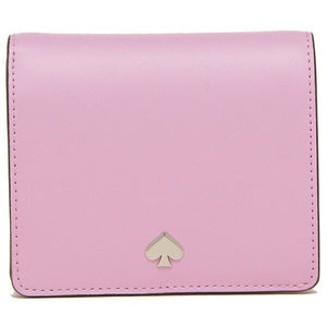 Kate Spade Nadine Small Bifold Wallet WLRU5595 In Lavender First